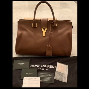 Authentic YSL ligne Y tote